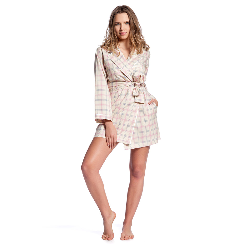 Limited Edition Plaid Robe