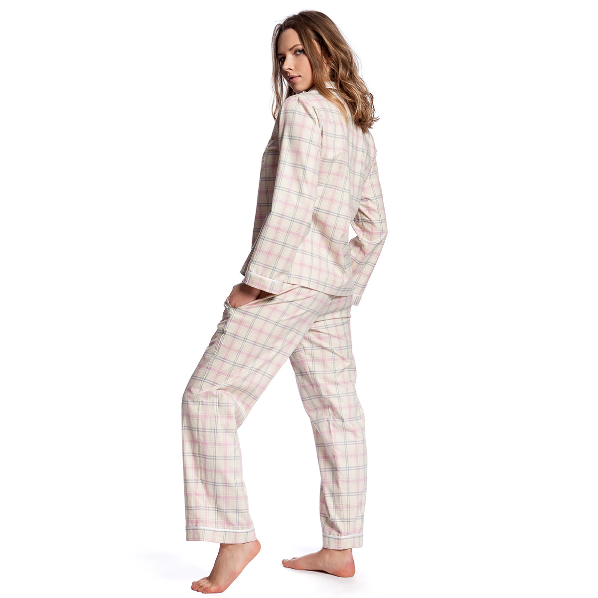 Limited Edition Plaid Pajama Set