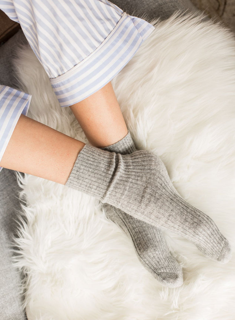 Cashmere Sleep Socks