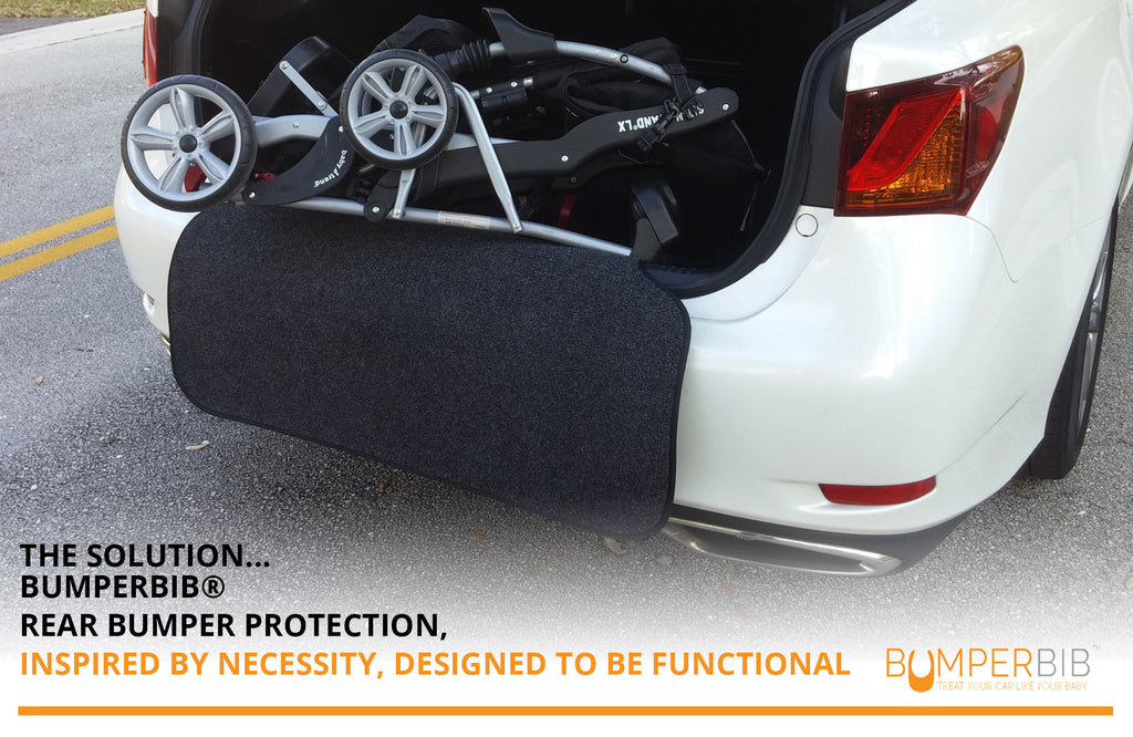 rear car bumper protector helps protect from scratches