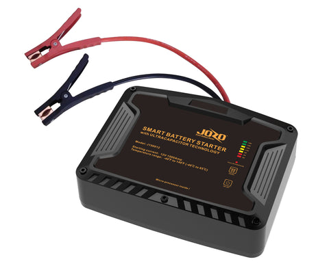 "J150012	12V-1500A ""JOZO"" Battery-Free Capacitor Jump Starter"