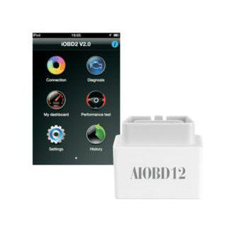 AIOBD12 Bluetooth OBDII Unit for iPhone and Android Mobile Phones