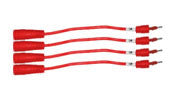 ALTKF12M Flat Wire 1.2 (4 Ppack) Male. Part of ATLK96.