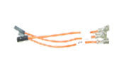 ASLK12-3C 0.6mm Flat Female to 3.0 mm Flat Female Terminal Outputs Cable. Part of ASLK12.