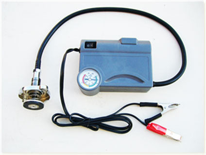 UQ200 Cooling System Tester Kit with Electric Pump and Universal Adapter