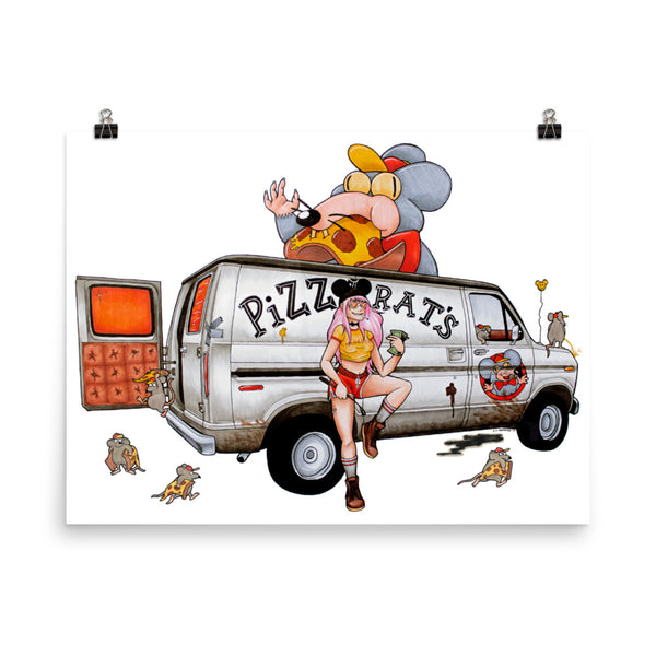 @emilydone drawed 2019 Ultimate Pizza Delivery Vehicle