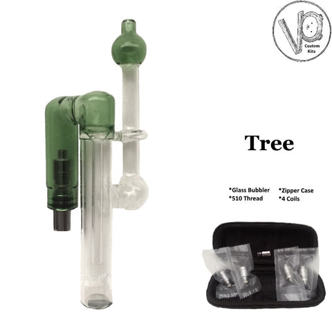 Tree Custom Glass Bubbler Atomizer Kit