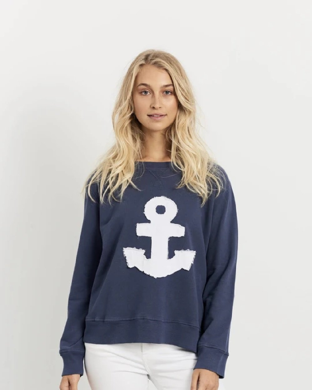 Frayed Anchor Cotton Windy - Old Navy