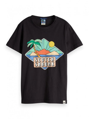 Boys Summer Artwork T-shirt