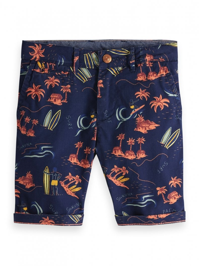 Boys Surfer Print Shorts