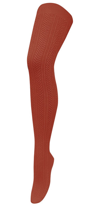 Chic Modal Tights - Toffee