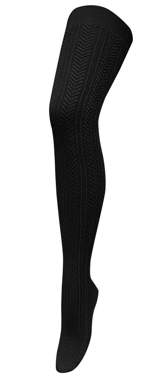 Chic Modal Tights - Black