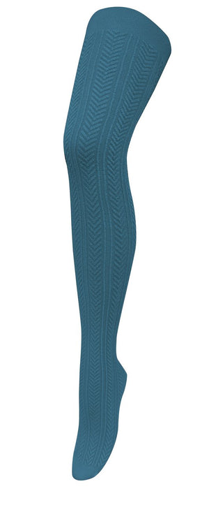 Chic Modal Tights - Teal