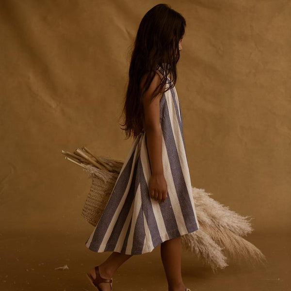 Feather Drum Elena Sack Dress