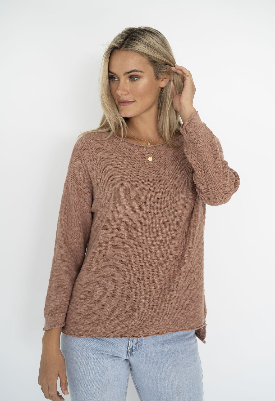 Sofia Sweater in Cinnamon