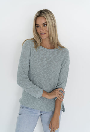 Sofia Sweater in Sea Blue