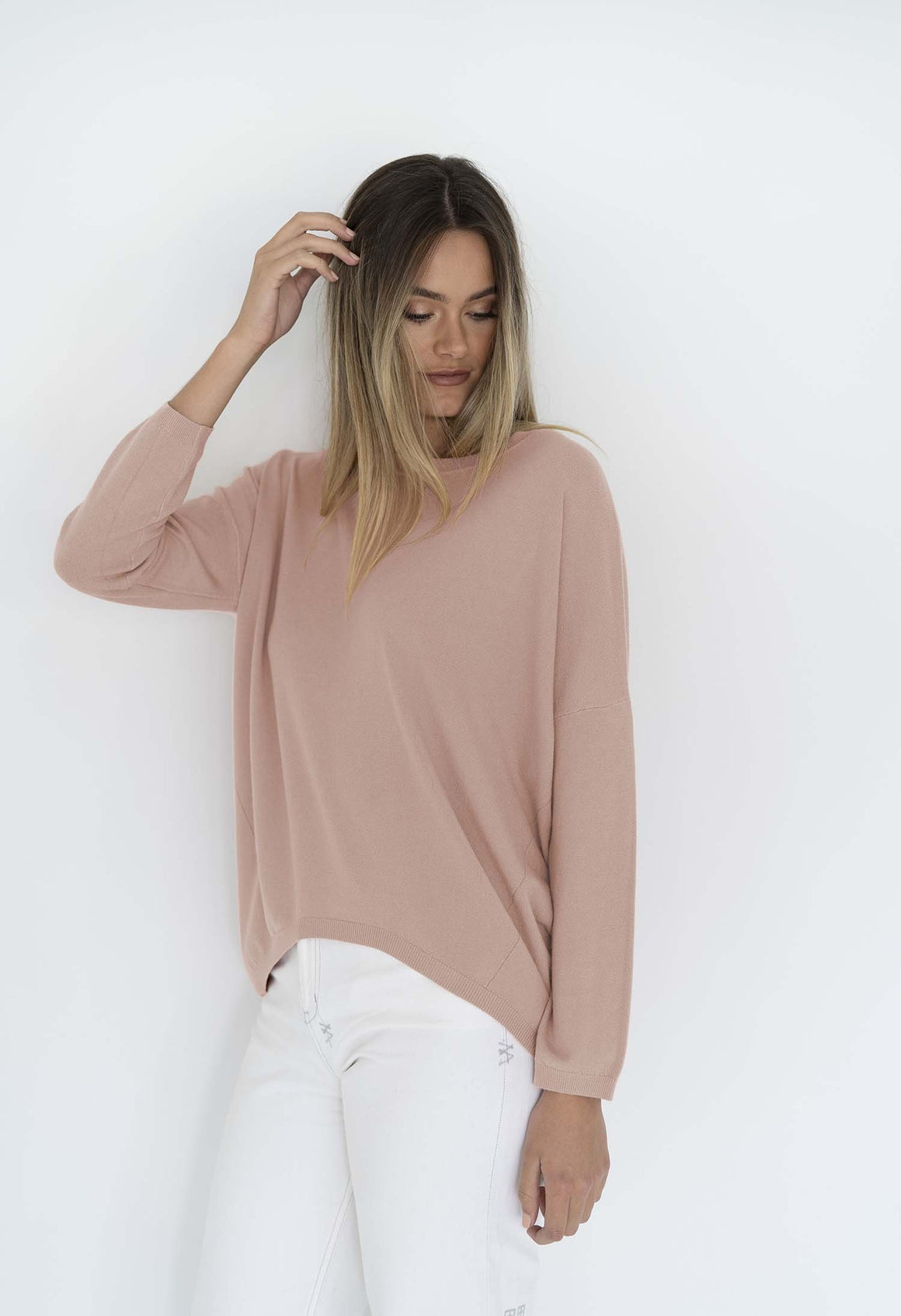 Luna Top in Deep Blush