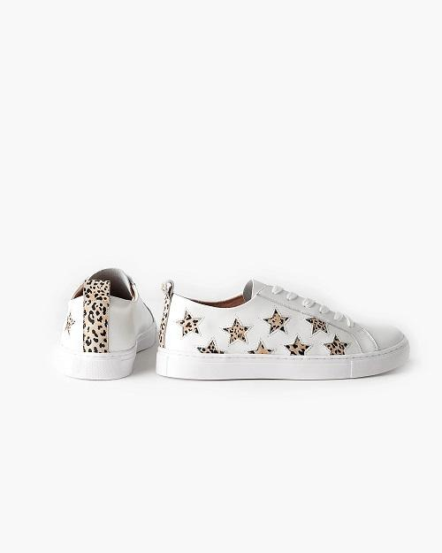 Haven Leather Sneaker - Leopard Star