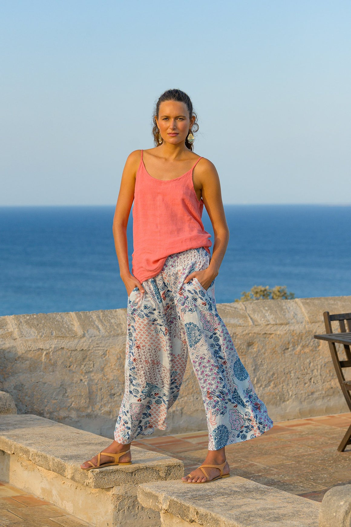 Evive Culotte Pant in Kastro