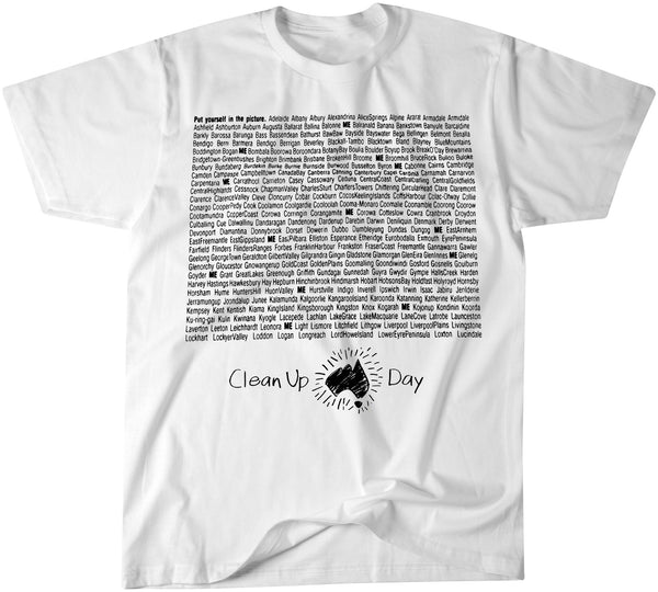 Clean Up Australia Cities & Towns T-shirt