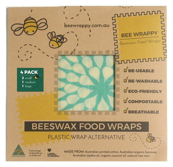 Bee Wrappy - Standard 4 pack