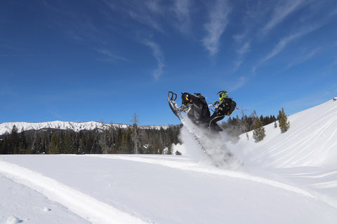 Utah snowmobile tour