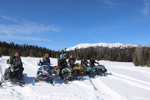 Snowmobile tours in utah
