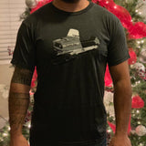 Old School Sled Mens Tee