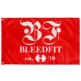 Bleedfit White and Red Flag
