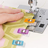 MumCraft Multipurpose Sewing Clips with Tin Box Package, Assorted Colors,...