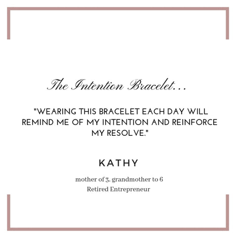 The Intention Bracelet by Rebecca Kim Scott, Rebecca Scott Jewelry