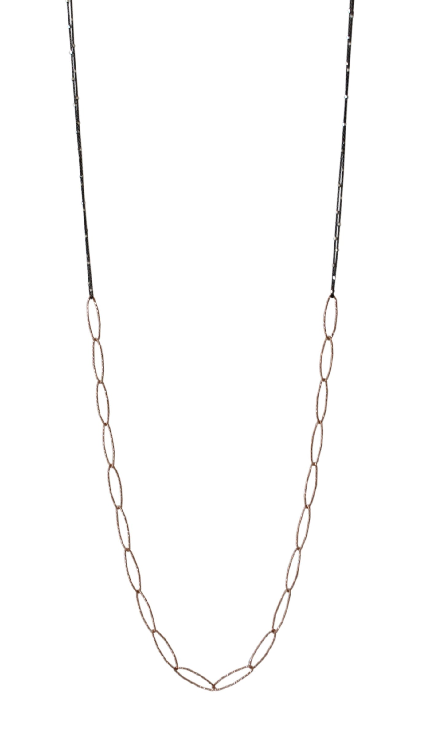 Harmony Chain Necklace in Marquise Link