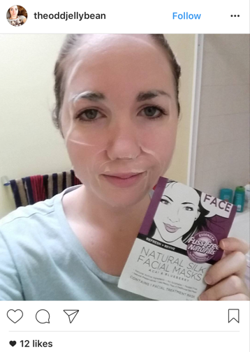 Fuss Free Naturals Facial Sheet Masks Refresh And Revive