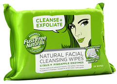 Fuss Free Natural Face Wipes