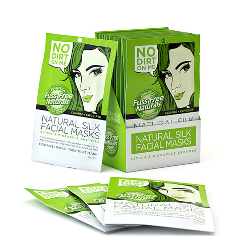 Cleanse + Exfoliate - 12 Face Mask Sheets
