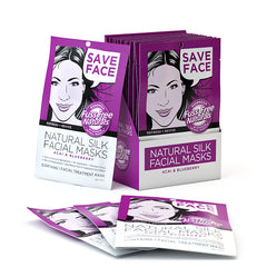 Fuss Free Naturals Silk Face Sheet Masks