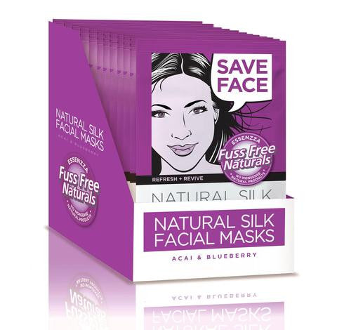 Fuss Free Naturals Facial Sheet Mask Refresh and Revive