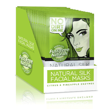 Facial sheet mask -  Fuss Free Naturals - Cleanse + exfoliate
