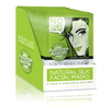 Facial sheet mask - Essenzza Fuss Free Naturals - Cleanse + exfoliate