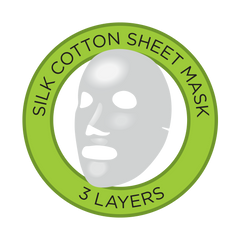 Fuss Free Naturals Silk Cotton Sheet Masks
