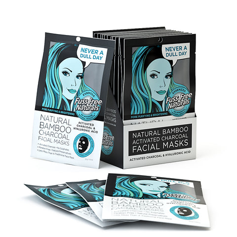 Activated Charcoal Pore Purify Brightening 12 Masks