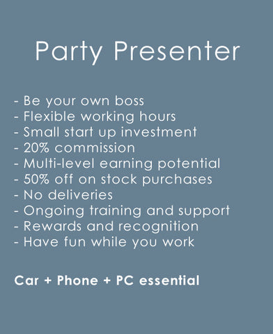 Party Plan Consultant Sydney