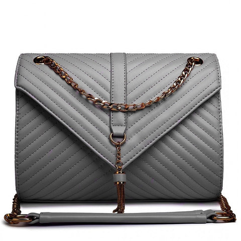 QUILTED SHOULDER BAG-Handbags-ML-Daring Diva Australia