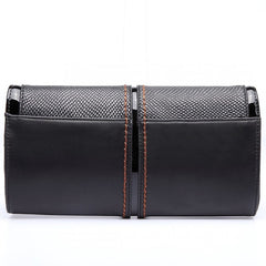BLACK BOW CLUTCH-Handbags-ML-Daring Diva Australia
