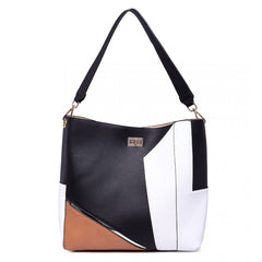 SLOUCHY LEATHER SHOULDER BAG-Handbags-ML-Daring Diva Australia