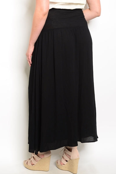Z-Sabrina Embrodered Skirt Black-SOLD-SOLD-Daring Diva Australia
