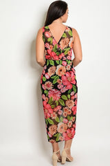 Juliet Floral Sweetheart Dress-SOLD-SOLD-Daring Diva Australia