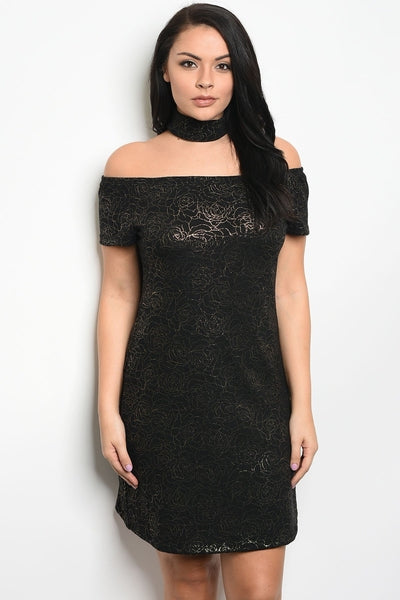Z-Ashlee Off Shoulder Dress-SOLD-SOLD-Daring Diva Australia