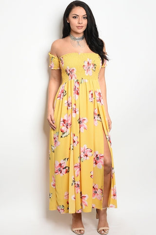 Sandy Sunshine Maxi Dress-Dresses-WFSPN-Daring Diva Australia