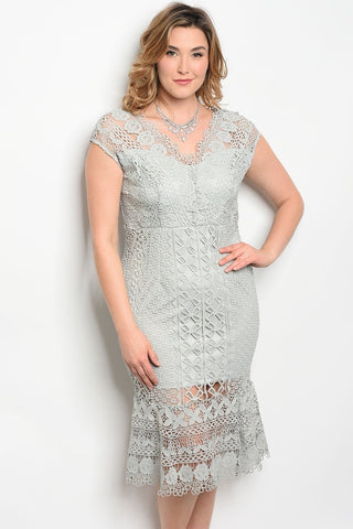 Makayla Lace Dress-Clearance-WFSP-Daring Diva Australia